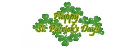 St Patricks Day Sign 2 Facebook Covers