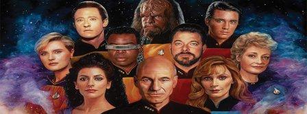 Star Trek 50 Years Tribute 2 Facebook Covers