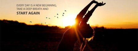 Start Again Facebook Covers