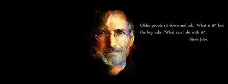 Steve Jobs Quote Facebook Covers