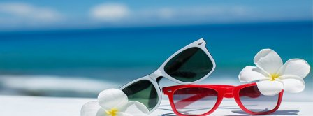 Summer Sunglasses Facebook Covers