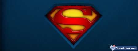 Superman Logo  Facebook Covers