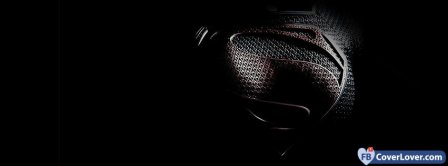 Superman Logo On Chest Facebook Covers
