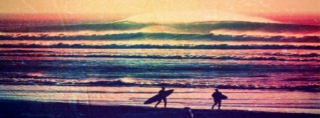 Surfing Scene Facebook Covers