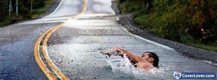 Swim In Life Facebook Covers
