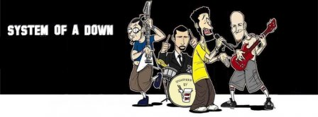 System Of A Down 4 Facebook Covers