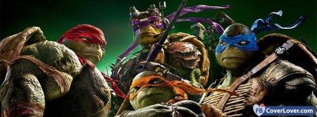 Teenage Mutant Ninja Turtles 2  Facebook Covers