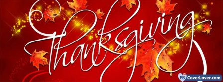Happy Thanks Giving 3 Facebook Covers