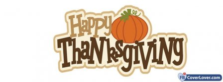 Happy Thanks Giving 4 Facebook Covers