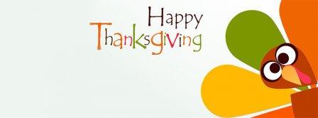 Thanksgiving Cartoon Turkey Facebook Covers
