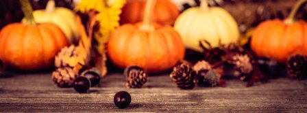 Thanksgiving Decoration Facebook Covers