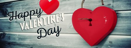 The Key To My Heart Valentine Facebook Covers
