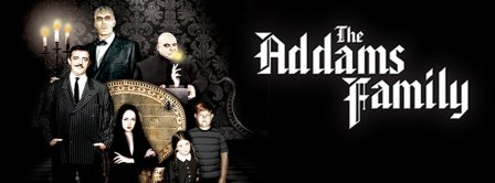 The Addams Family 2 Facebook Covers