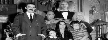 The Addams Family Facebook Covers