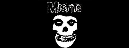 The Misfits Skull Facebook Covers