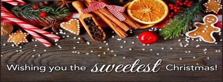 The Sweetest Christmas Facebook Covers