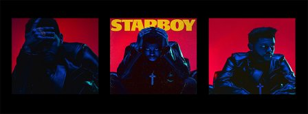 The Weeknd Starboy Portrait Facebook Covers