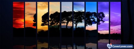 Tree Spectrum  Facebook Covers