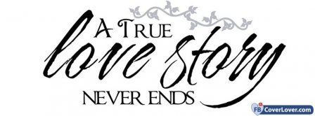 True Love Story Facebook Covers