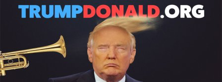 US Elections Donald Trump 2 Facebook Covers