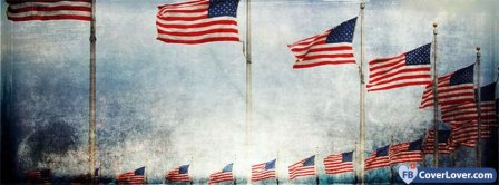 US Flag 1 Facebook Covers