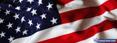 US Flag 3 Facebook Covers