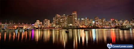 Vancouver City View  Facebook Covers