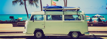Vintage Surf Van  Facebook Covers