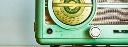 Vintage Retro Radio  Facebook Covers
