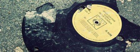 Broken Vinyl Facebook Covers
