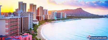 Waikiki Beach Hawaii Facebook Covers