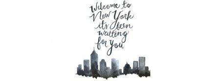 Welcome To New York Facebook Covers