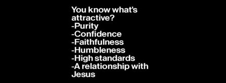 What Is Attractive With Jesus  Facebook Covers