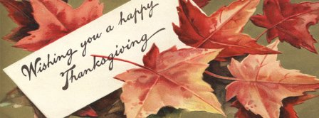 Whishing You A Happy Thanksgiving Facebook Covers