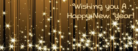 Wishing You A Happy New Year Facebook Covers