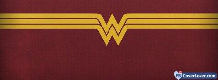 Wonder Woman Logo Facebook Covers