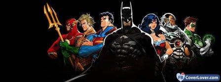 Superheroes Group Facebook Covers