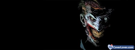 The Joker Smiling Facebook Covers