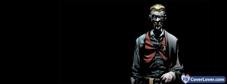 The Joker Cowboy Facebook Covers