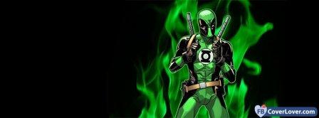 Green Lantern Cartoon Facebook Covers