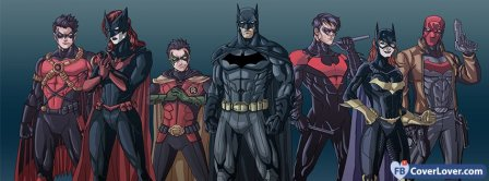 Batman Superheroes Facebook Covers