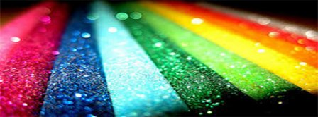 Colorful Glitter Facebook Covers