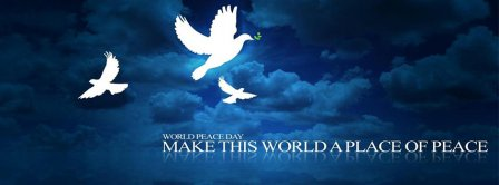 World Peace Day Facebook Covers