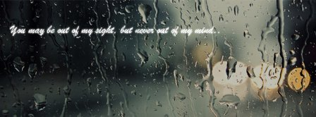 You May Be Out Of Sight Quote  Facebook Covers