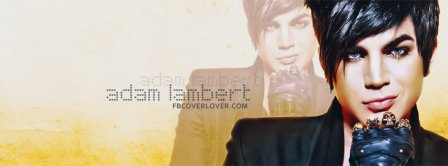 Adam Lambert 2 Facebook Covers