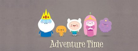 Adventure Time 1  Facebook Covers