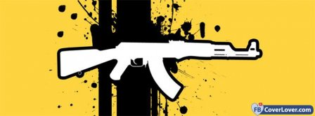 Ak47 Gun  Facebook Covers