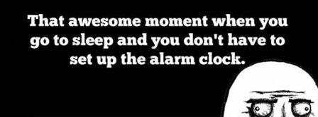 Alarm Clock Facebook Covers