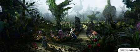 Alice In Wonderland 3 Facebook Covers