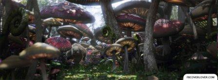Alice In Wonderland 4 Facebook Covers